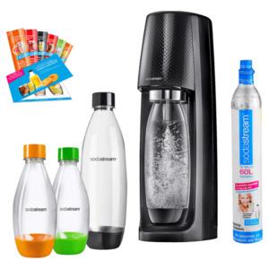 Sodastream Easy Vorteilspack Wassersprudler mit Sirupproben