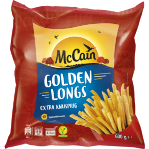 Mc Cain Golden Longs oder Chef-Frites