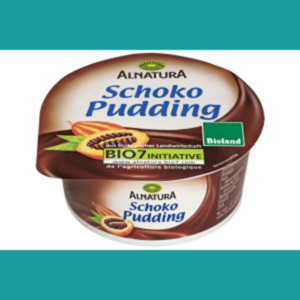 Alnatura Schoko- oder Vanille-Pudding