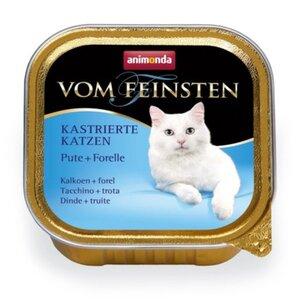 Animonda Vom Feinsten für kastrierte Katzen 32x100g Pute & Forelle