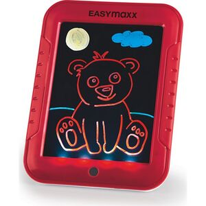 EASYmaxx Malpad Magic Glow 20-tlg. 4,5V rot