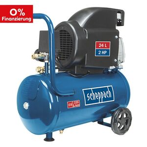 Scheppach HC26 Kompressor inkl. 14-tlg. Zubehör