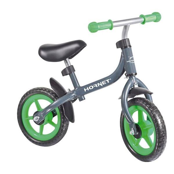 Hornet Laufrad Bikey 10 Zoll, grau/grün