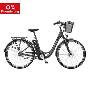 "Telefunken Alu City E-Bike 28"" Multitalent RC830 3-Gang Nabenschaltung anthrazit"