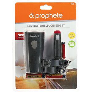Fahrradzubehör - prophete LED-Batterieleuchten - Set
