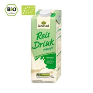 Alnatura Reis oder Hafer Drink