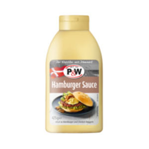 P&W Hamburger Saucen oder Burger Dressing