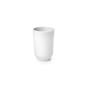 Zahnputzbecher Lilo aus Kunststoff in Weiß