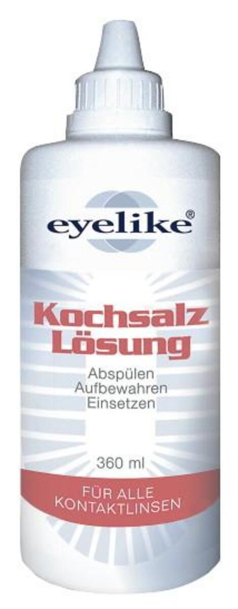 Bild 2 von eyelike Kochsalz Lösung für alle Kontaktlinsen 0,36 ltr
