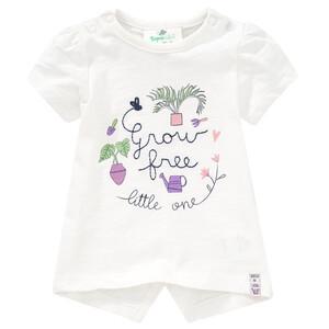 Newborn T-Shirt mit Stickerei