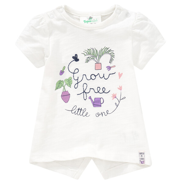 Newborn T-Shirt mit Stickerei