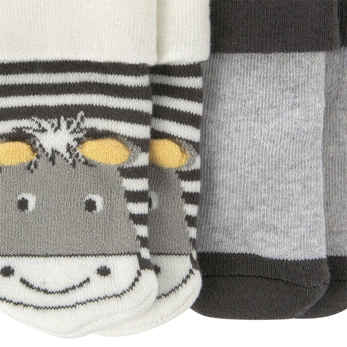 Bild 3 von 2 Paar Newborn Socken im Set