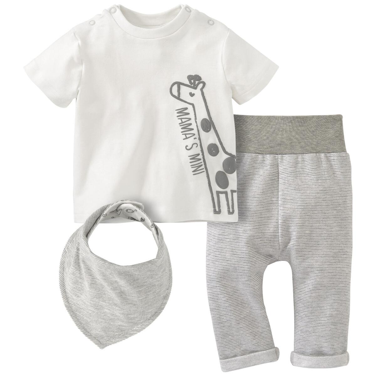 Bild 1 von Newborn T-Shirt, Hose und Bandana im Set