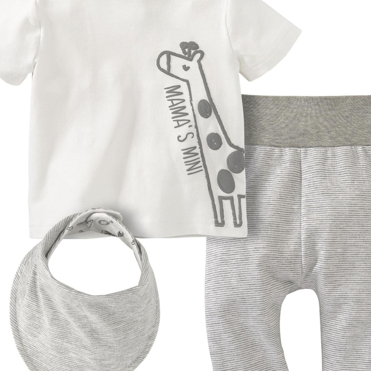 Bild 2 von Newborn T-Shirt, Hose und Bandana im Set