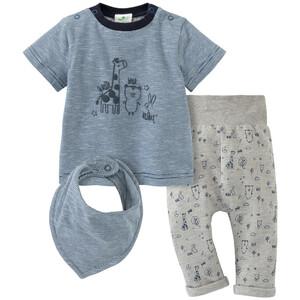 Newborn T-Shirt, Hose und Bandana im Set