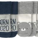 Bild 2 von 3 Paar Newborn Socken mit Born 2020-Motiv