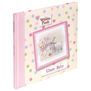 Winnie Puuh Babyalbum mit wattiertem Cover