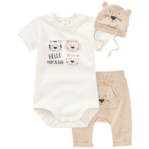 Newborn Body, Hose und Mütze im Set