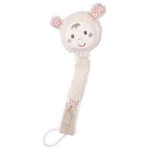 Baby Schnullerkette mit Schaf-Figur