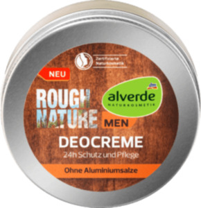 alverde MEN Deocreme Rough Nature