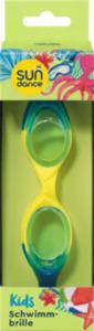 SUNDANCE Schwimmbrille für Kinder Blau-Gelb