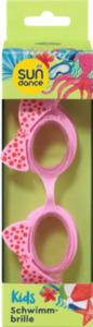 SUNDANCE Schwimmbrille für Kinder mir rosa Schleifen-Dekor