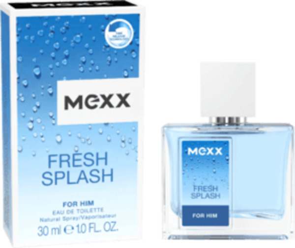 Mexx Eau de Toilette Fresh Splash male