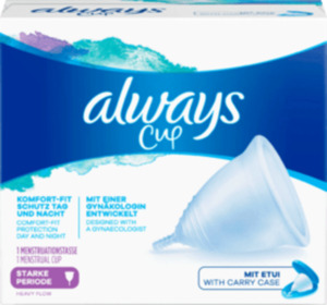 always Menstruationstasse Größe 2