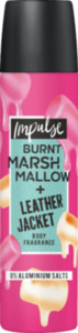 Impulse Deo Spray Deodorant Burnt Marshmallow + Leather Jacket