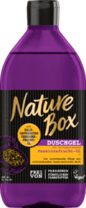 Nature Box  Duschgel Passionsfrucht-Öl