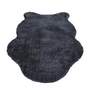 KUNSTFELL 100/150 cm Grau