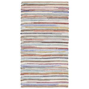 HANDWEBTEPPICH 70/130 cm Multicolor
