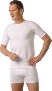 Herren Kurzarm - Unterhemden, Farbe weiß