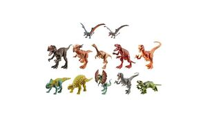 Mattel - Jurassic World Attack Pack Velociraptor Blue 2