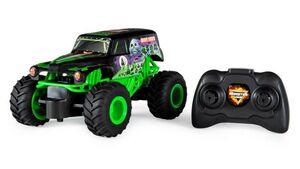 Spin Master - Monster Jam - Official Grave Digger Remote Control Monster Truck, 1:24 Scale, 2.4 GHz