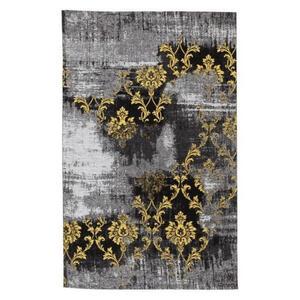 FLACHWEBETEPPICH 145/200 cm Gelb, Grau
