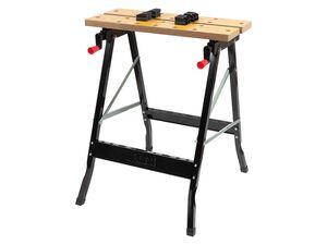 PARKSIDE® Werk- und Spanntisch, B 60,5 x H 79 x T 63 cm, 150 kg Belastbarkeit