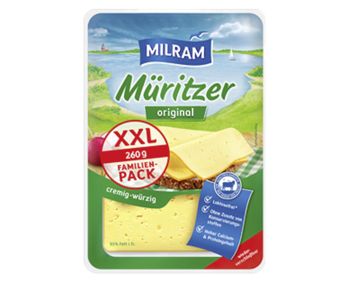 Bild 2 von MILRAM Käsescheiben