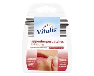 Vitalis®  Lippenherpespatches