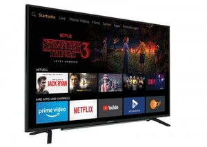 Grundig LED TV 49GUT7077 Miami Fire TV-Edition ,  123 cm (49 Zoll), 4K Ultra HD,Fire TV, HbbTV