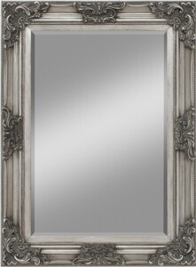 Rahmenspiegel Ruiz ,  silber