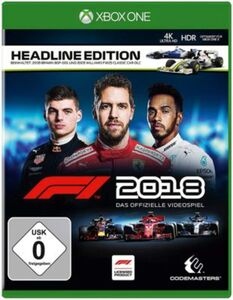 XBOXONE F1 2018 Headline Edition