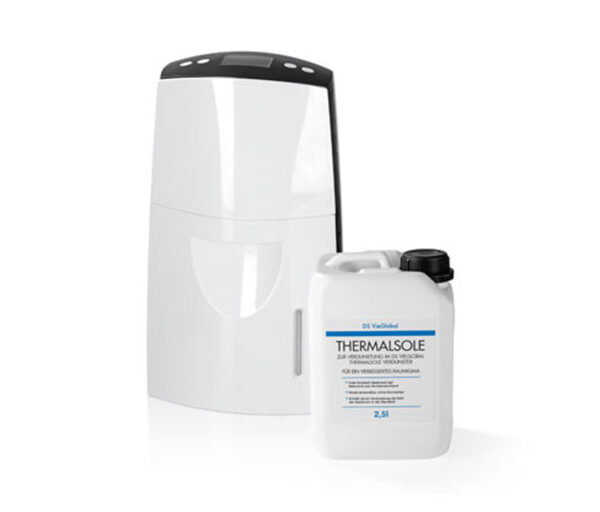 DS VieGlobal Thermalsole-Verdunster mit 2,5 l Thermalsole