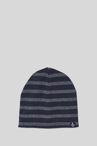 C&A Mütze-gestreift, Blau, Größe: 104-122