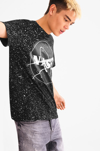 C&A T-Shirt-NASA, Schwarz, Größe: XXL
