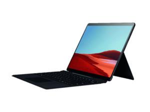 MICROSOFT Surface Pro X 8GB/128GB SQ1, Convertible mit 13 Zoll Display, SQ1™ Prozessor, 8 GB RAM, 128 GB SSD, Microsoft® SQ1™ Adreno™ 685 GPU, Schwarz