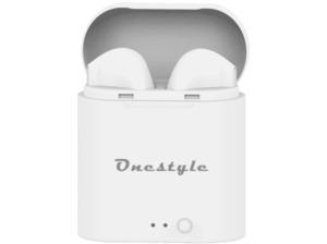 CORN TECHNOLOGY TWS-BT-V7, In-ear Headset Bluetooth Weiß