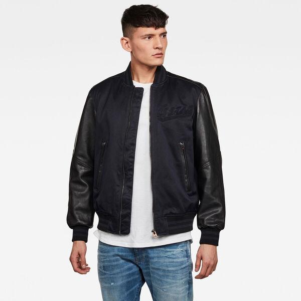 Allox Leather PM Bomberjacke