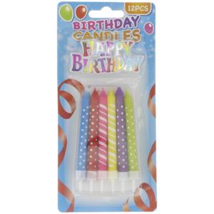 Birthday Candles Geburtstagskerzen