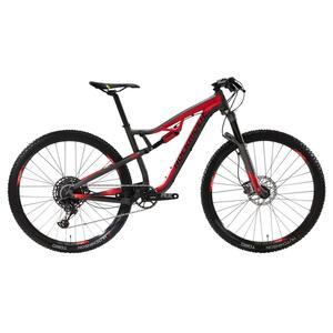 Mountainbike 29 Zoll Rockrider XC 100S schwarz/rot